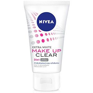 Extra White Makeup Clear Mud Foam Face Wash