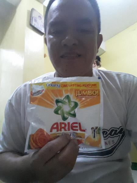 Ariel sunrise fresh clean in 1 wash laundry detergent by